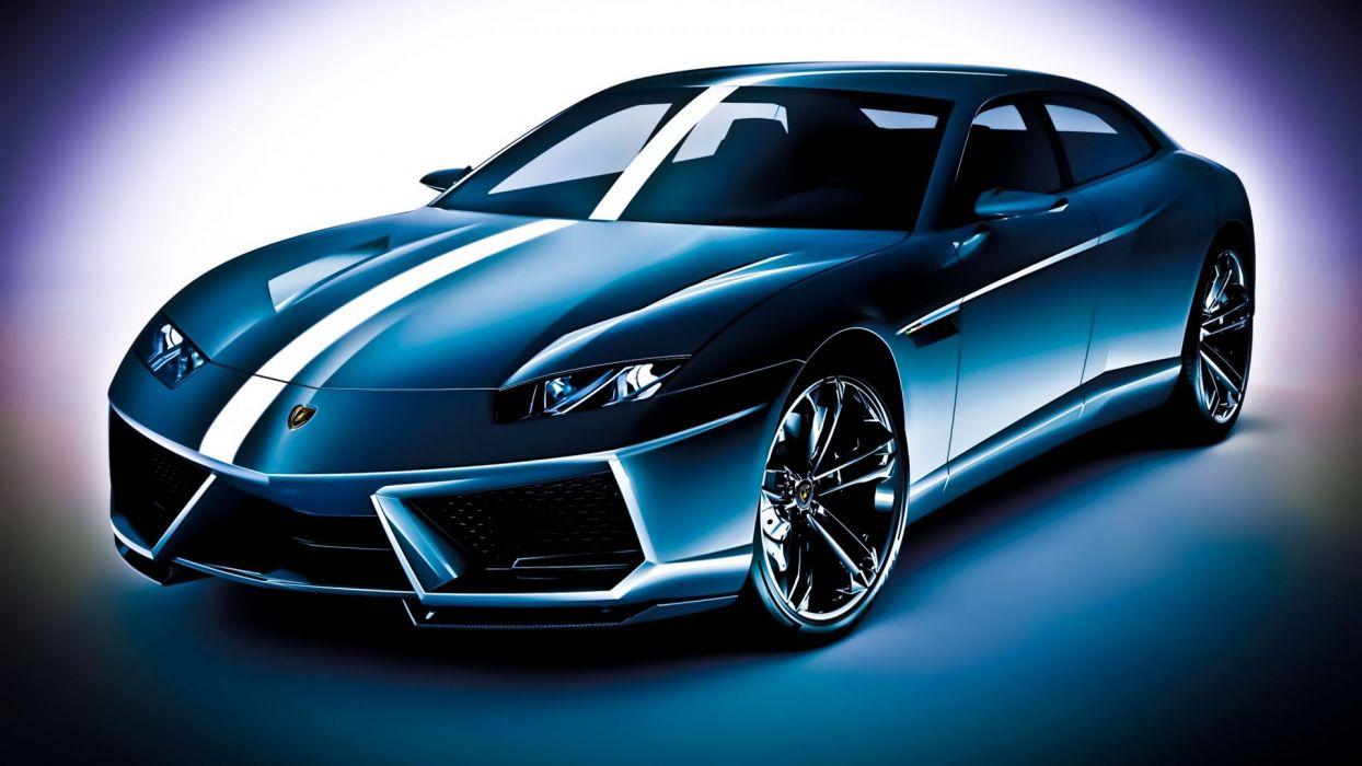 lamborghini-coche-azul-deportivo wallpaper