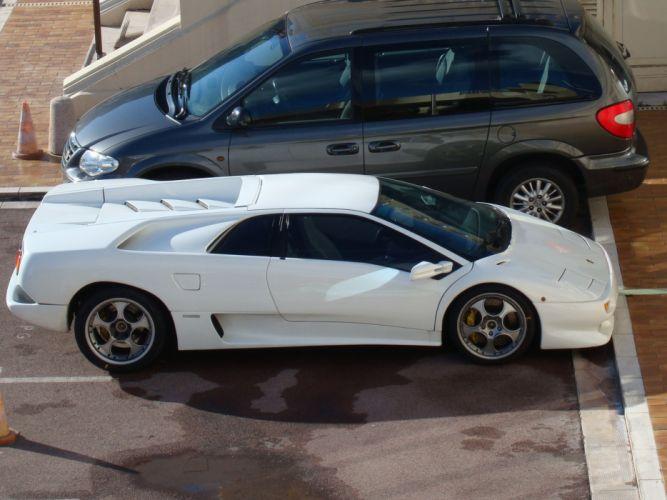Lamborghini Diablo cars supercars coupe italia italie wallpaper