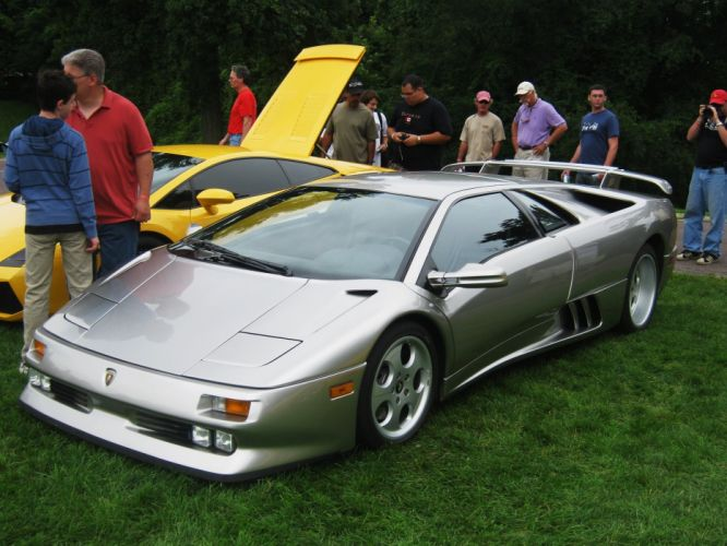 Lamborghini Diablo cars supercars coupe italia italie wallpaper