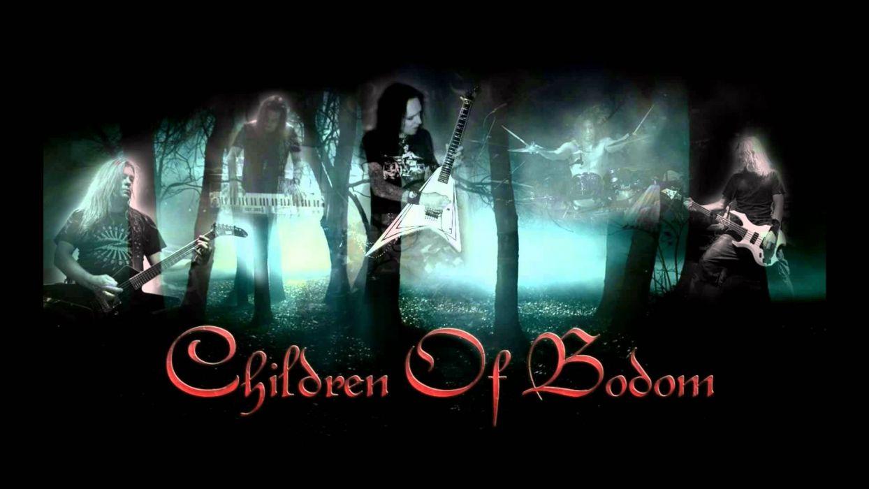 CHILDREN OF BODOM thrash death metal heavy technical progressive poster guitar wallpaper