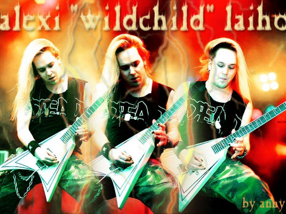 CHILDREN OF BODOM thrash death metal heavy technical progressive guitar wallpaper