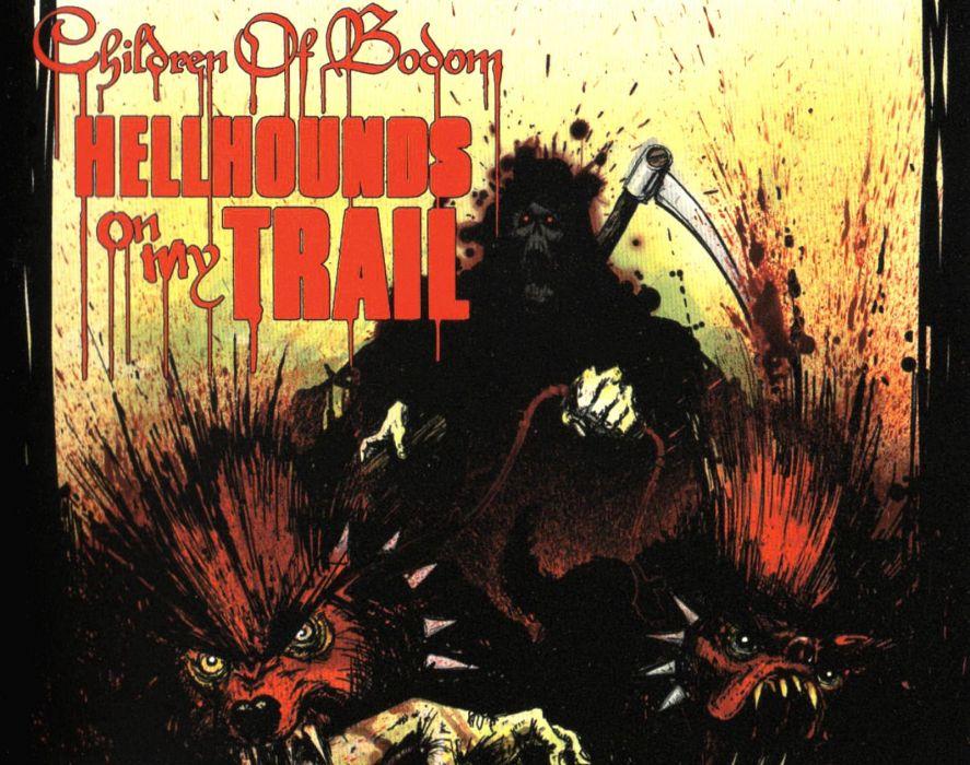CHILDREN OF BODOM thrash death metal heavy technical progressive poster dark reaper grim death wallpaper