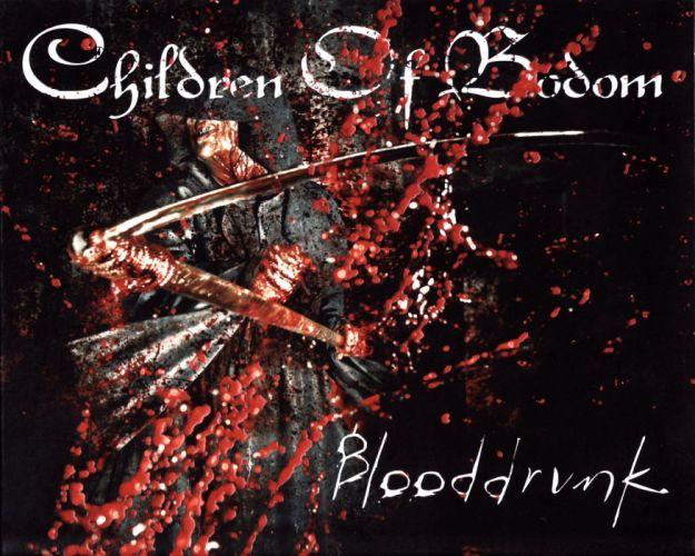 CHILDREN OF BODOM thrash death metal heavy technical progressive poster dark reaper grim death blood wallpaper