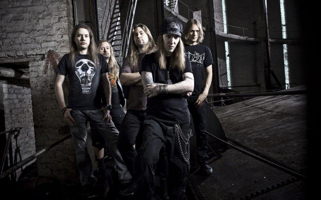 CHILDREN OF BODOM thrash death metal heavy technical progressive wallpaper