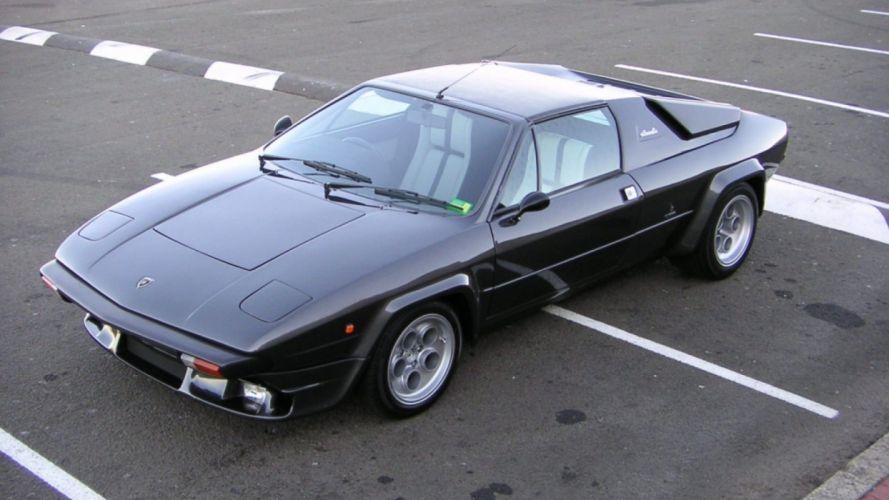lamborghini silhouette cars coupe classic supercars italia italie wallpaper