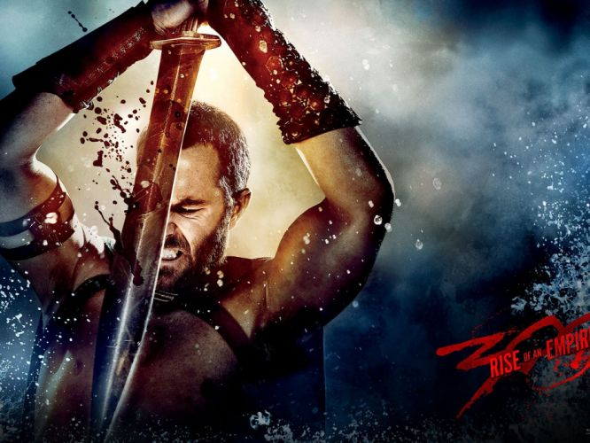 300 RISE OF AN EMPIRE action drama fighting warrior fantasy spartan poster wallpaper
