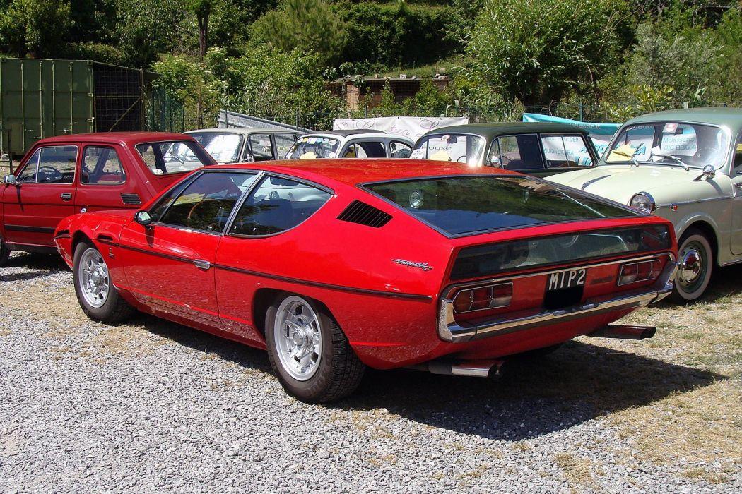 1969 72 400 classic espada gte Lamborghini Supercar wallpaper