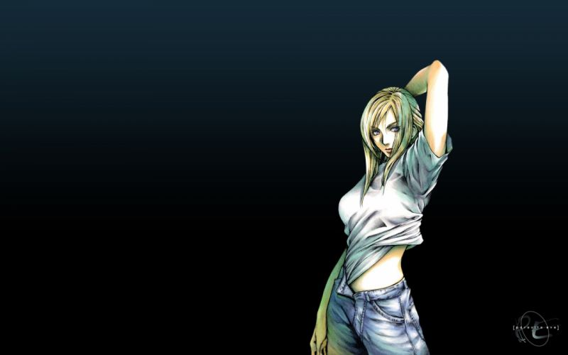 PARASITE EVE action rpg survival horror violence animation babe dark wallpaper