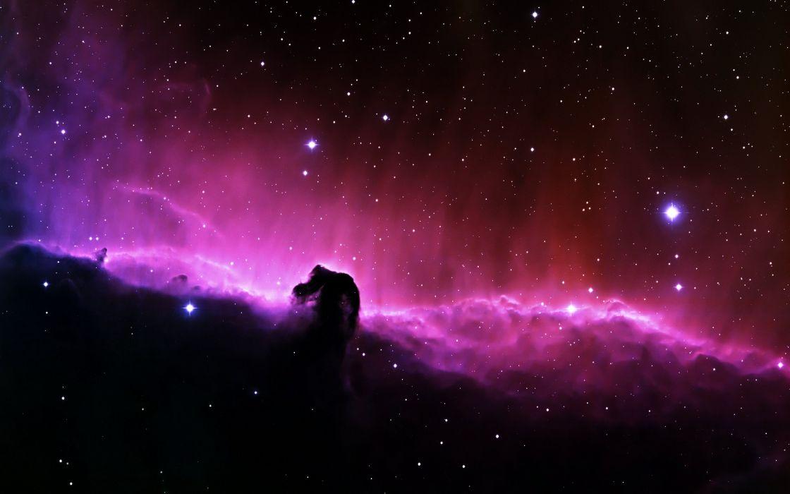 Stars Galaxy Pink Ufo Space Wallpaper