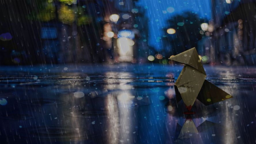 HEAVY RAIN drama action adventure noir thriller cinematic violence orgami wallpaper