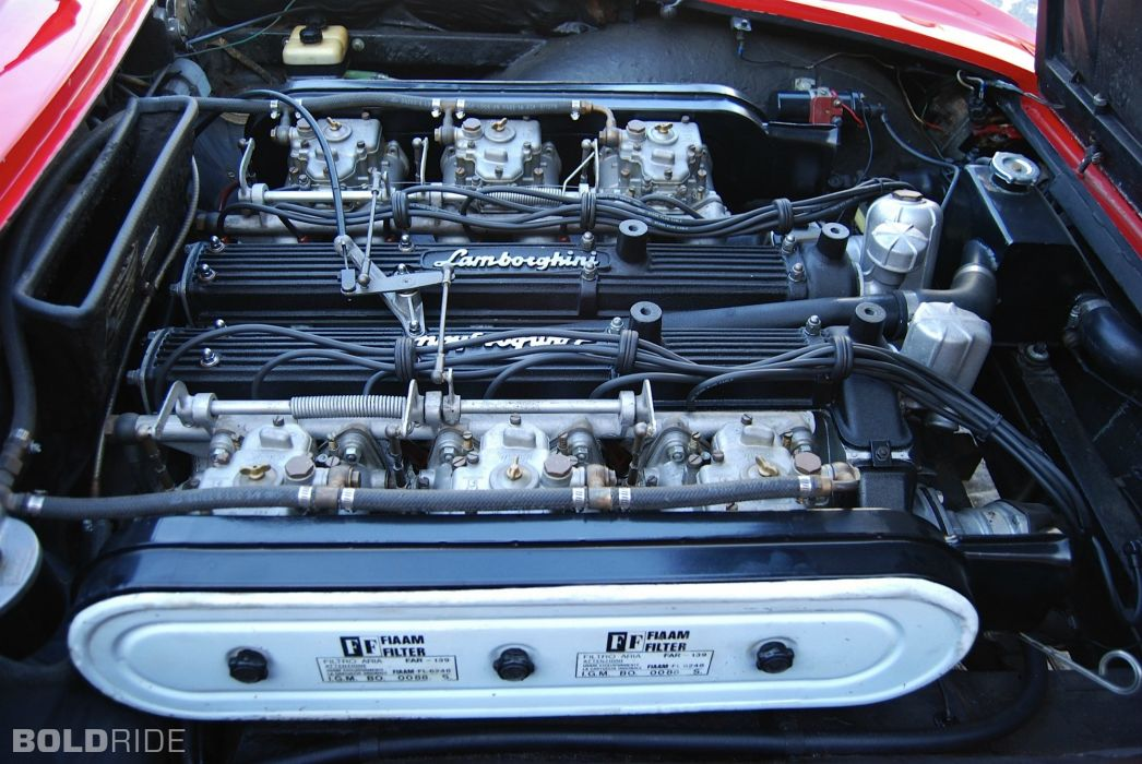 car classic islero Italy Lamborghini sportcars Supercars engine moteur wallpaper
