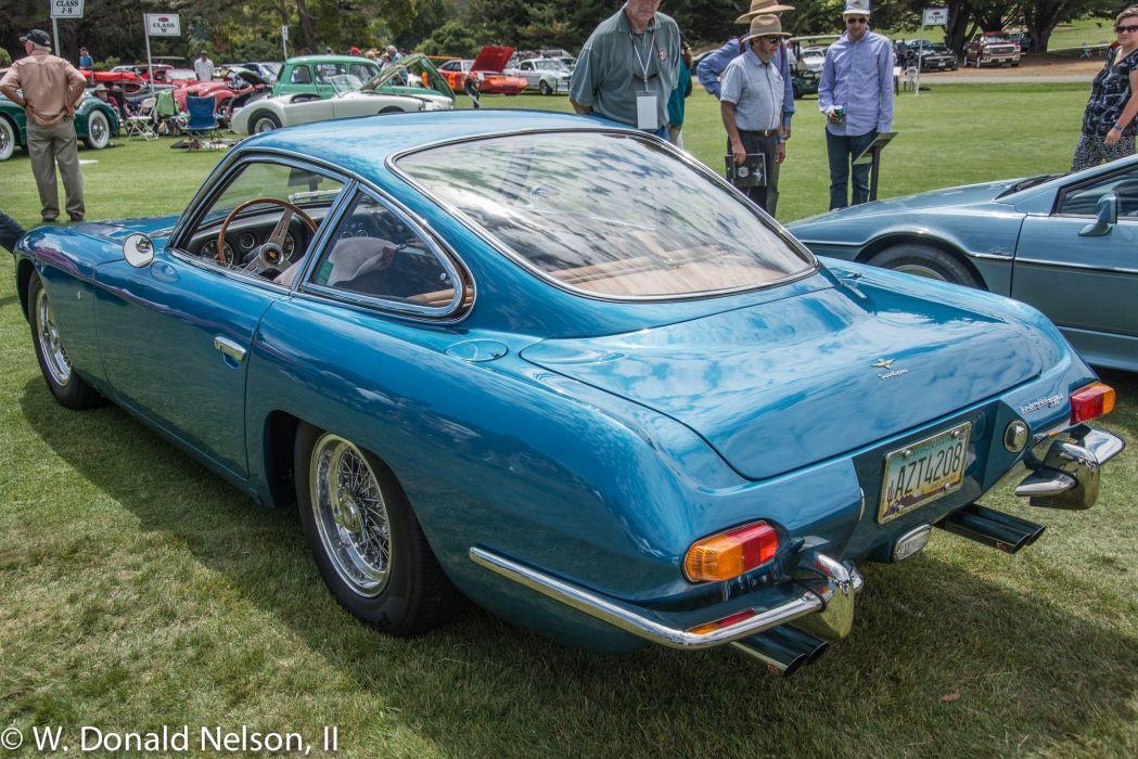 350 classic g t Lamborghini Supercar supercars cars italy blue bleu wallpaper