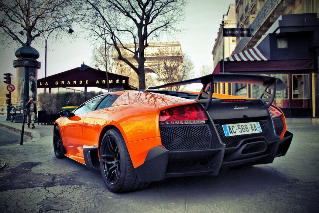 Lamborghini lp670 sv Murcielago Supercars cars wallpaper