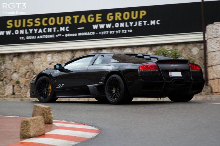 lamborghini murcielago cars coupe supercars italy black wallpaper