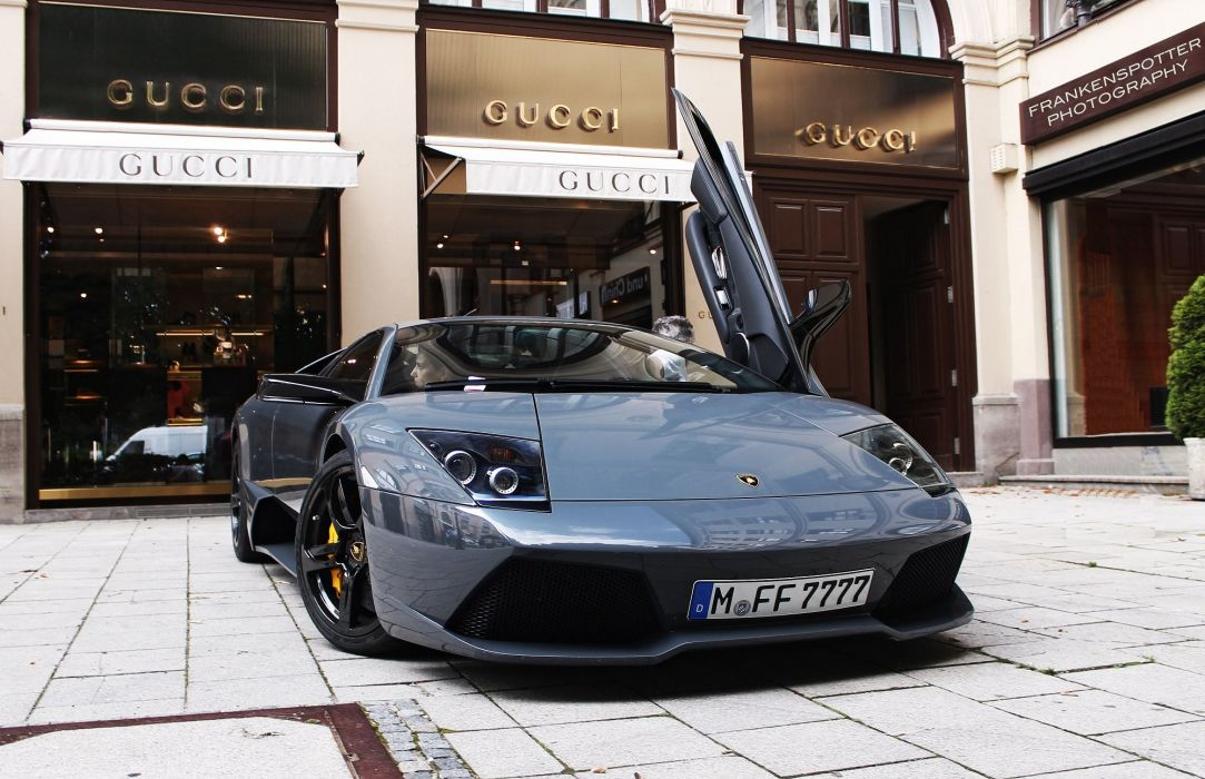 lamborghini murcielago cars coupe supercars italy gris grey wallpaper