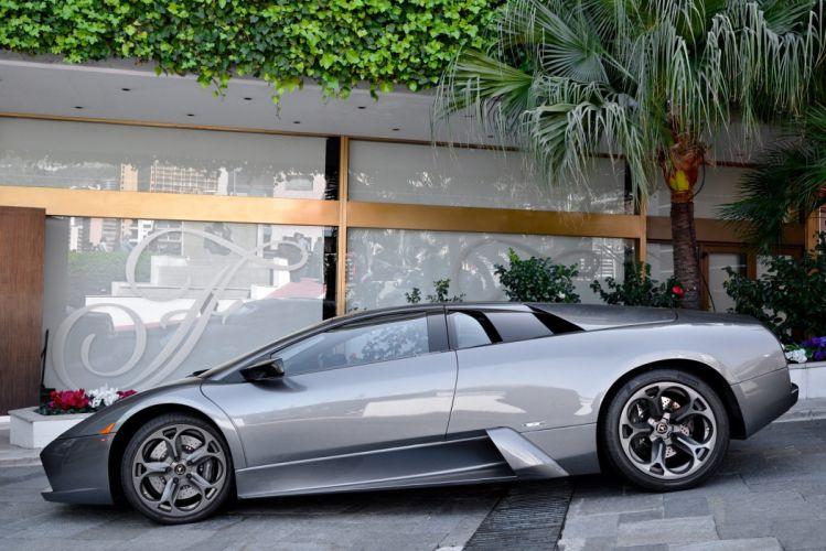 lamborghini murcielago cars coupe supercars italy gris grey wallpaper
