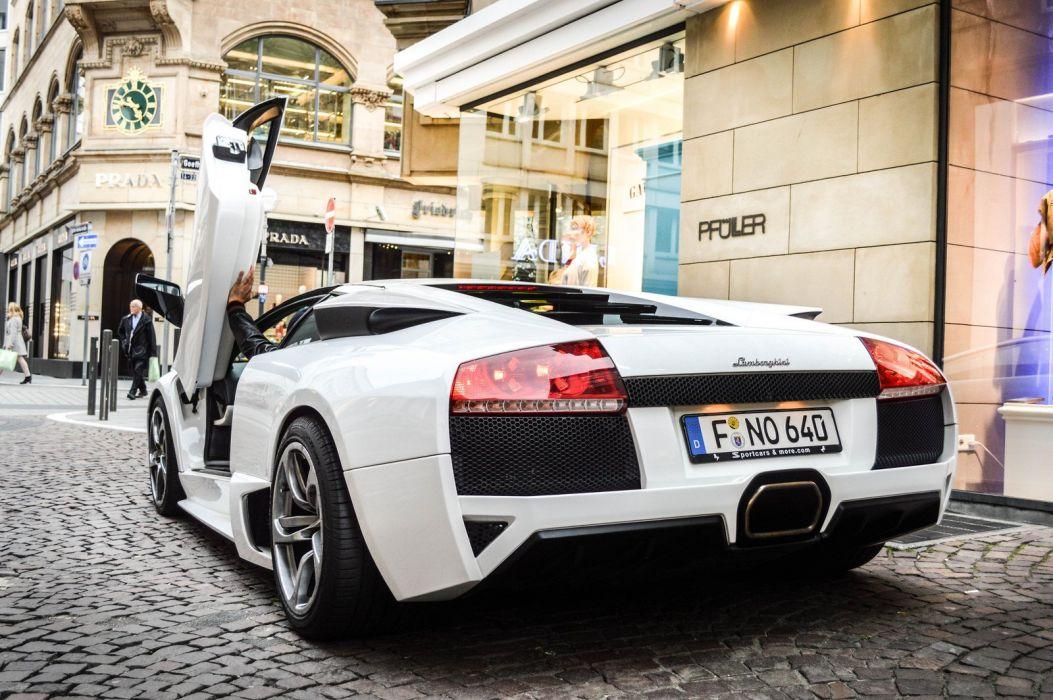 lamborghini murcielago cars coupe supercars italy blanc white wallpaper