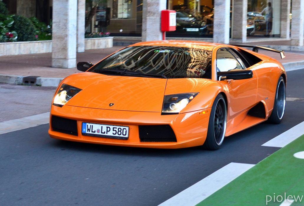 lamborghini murcielago cars coupe supercars italy orange wallpaper