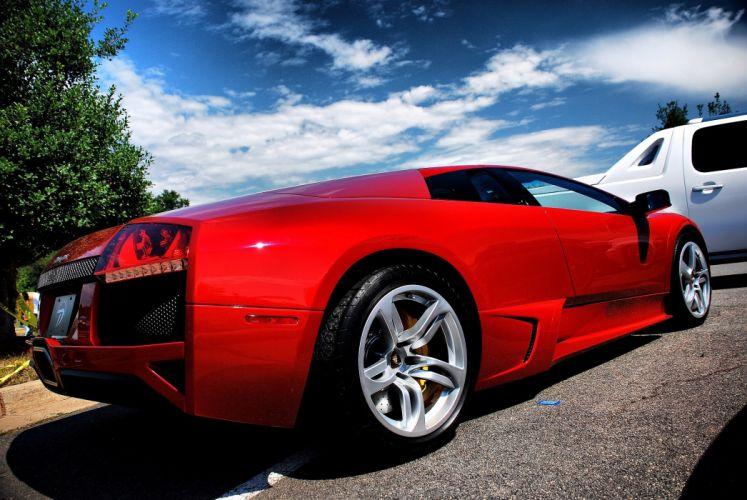 lamborghini murcielago cars coupe supercars italy rouge red wallpaper