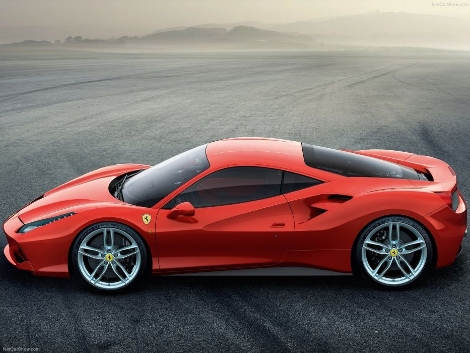 Ferrari 488 GTB cars coupe supercars wallpaper