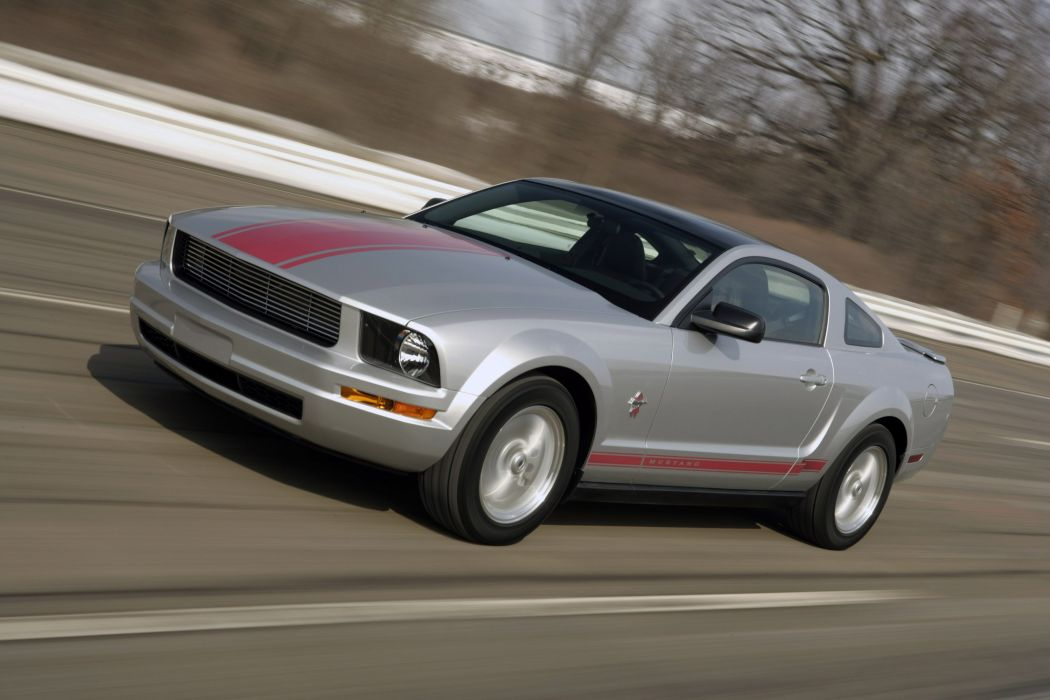 2008 Ford Mustang Coupe muscle wallpaper