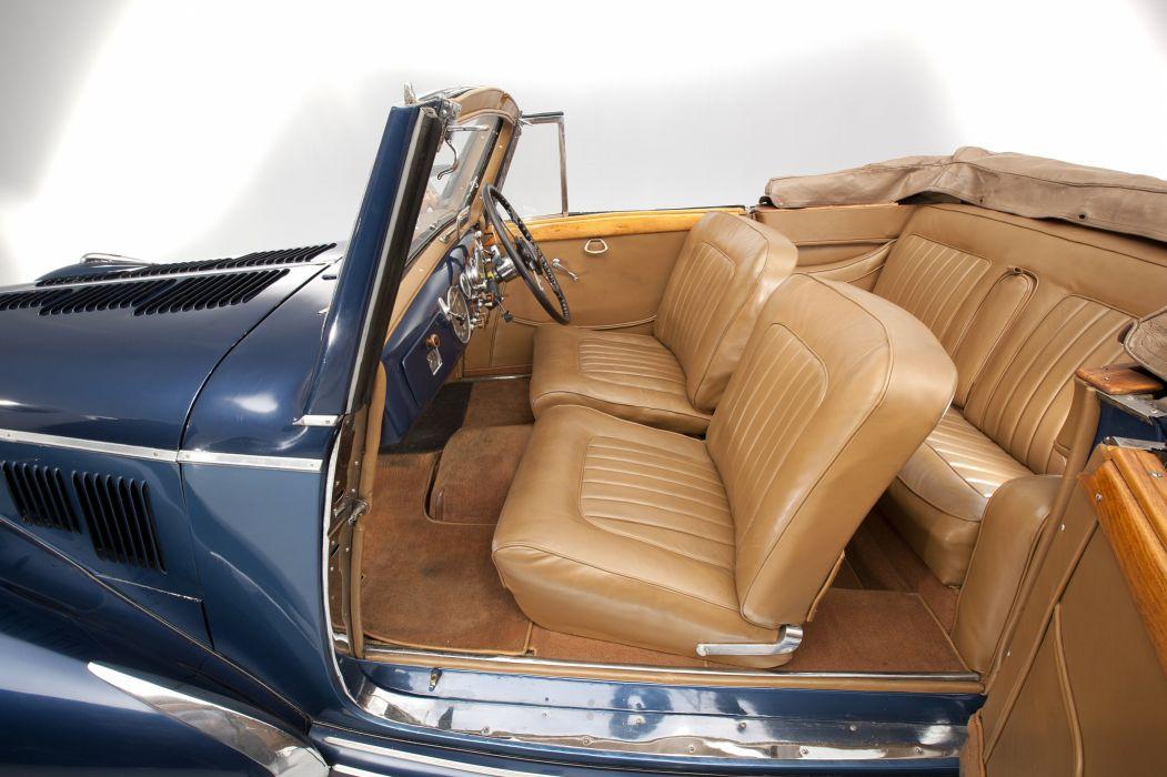 1950 Talbot Lago T26 Record Cabriolet retro vintage luxury wallpaper