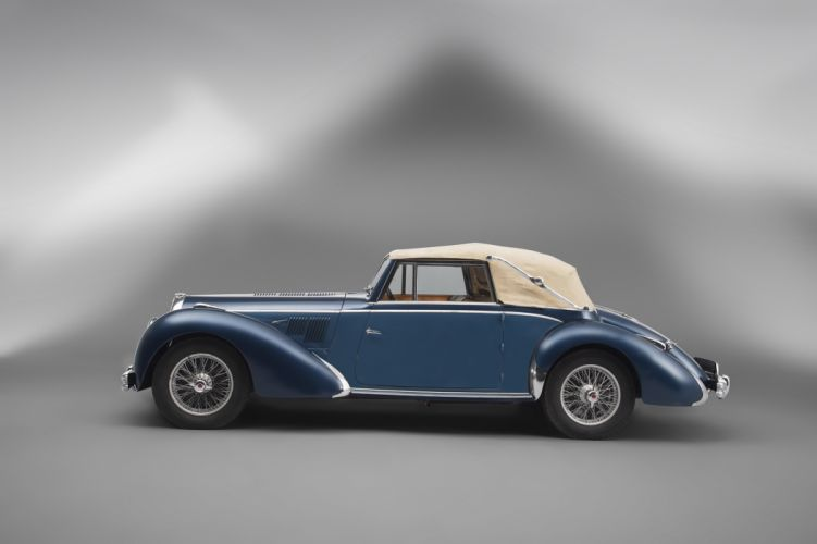 1950 Talbot Lago T26 Record Cabriolet retro vintage luxury wallpaper