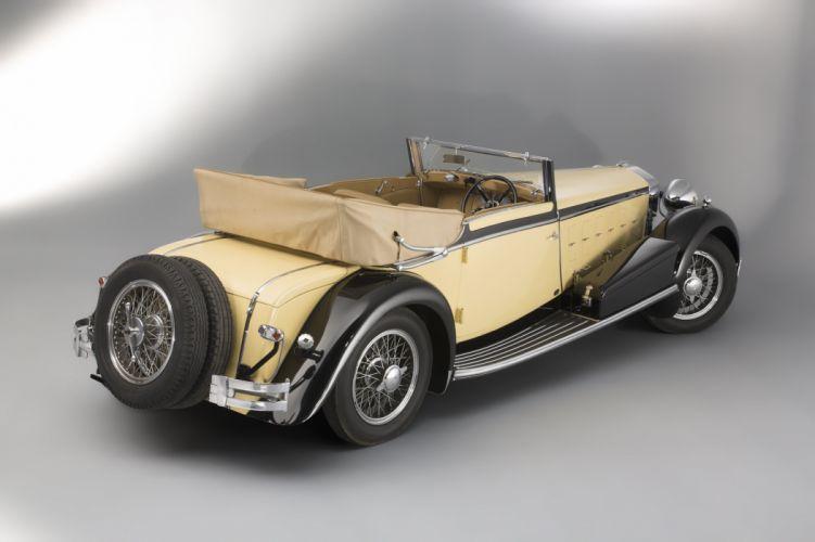 1924 Isotta Fraschini Tipo 8-A Cabriolet Ramseier luxury retro vintage wallpaper