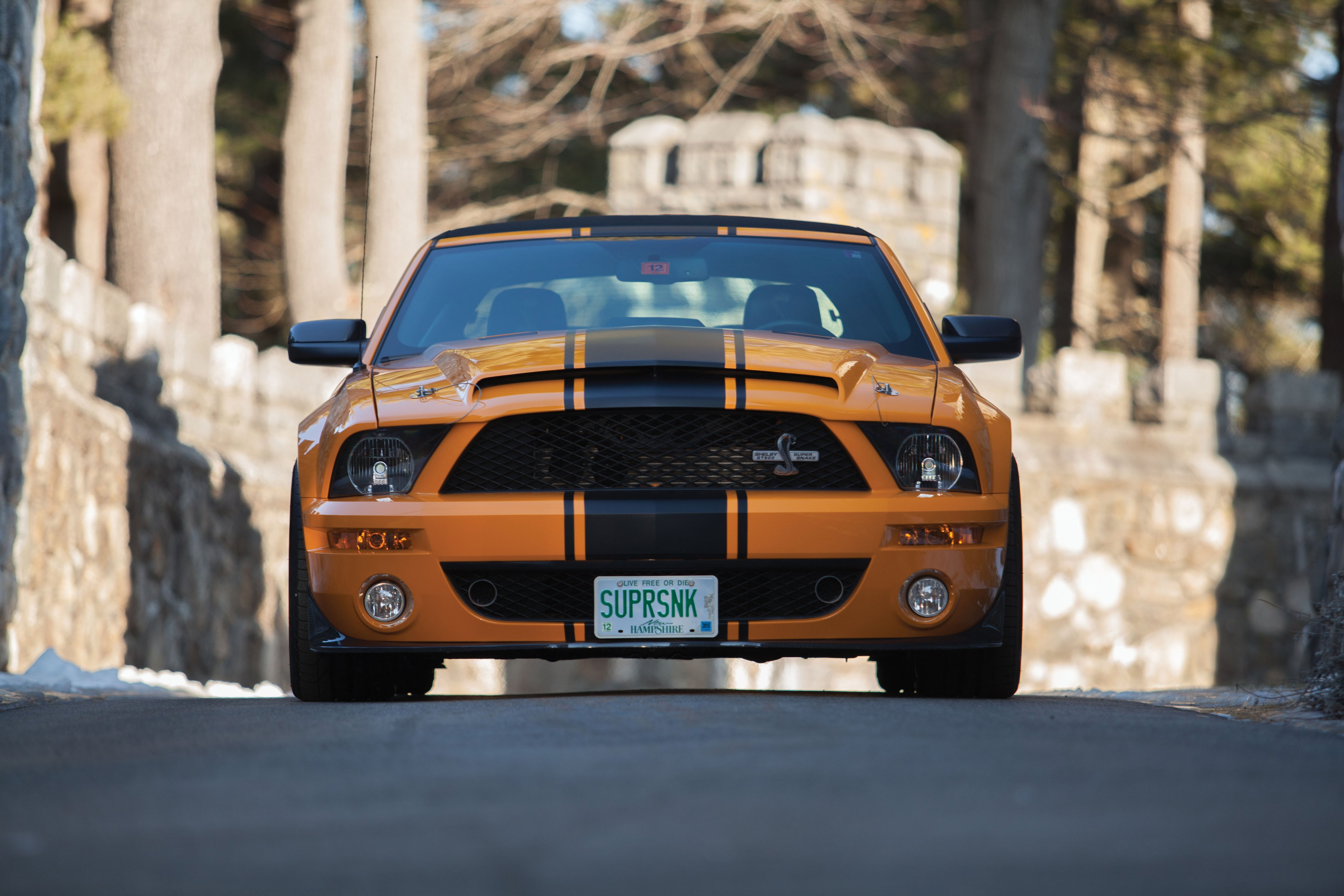 2007 Shelby Gt500 Super Snake Convertible Prototype Ford