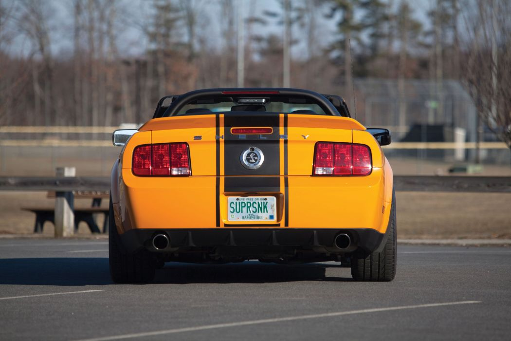 2007 Shelby GT500 Super Snake Convertible Prototype ford mustang muscle g-t wallpaper