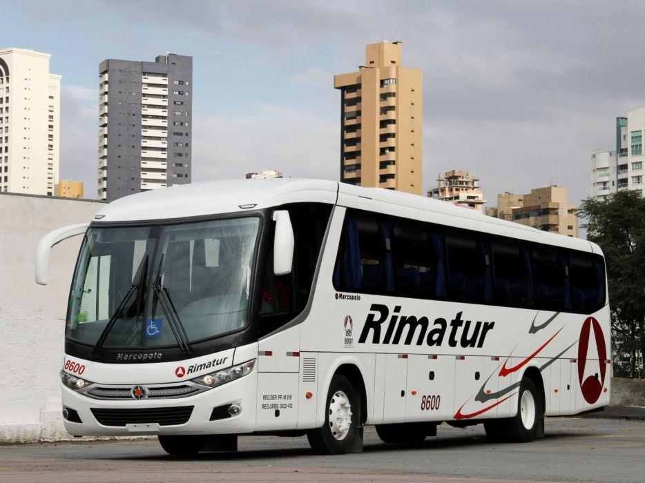 2010 Marcopolo Viaggio G7900 bus transport semi tractor wallpaper