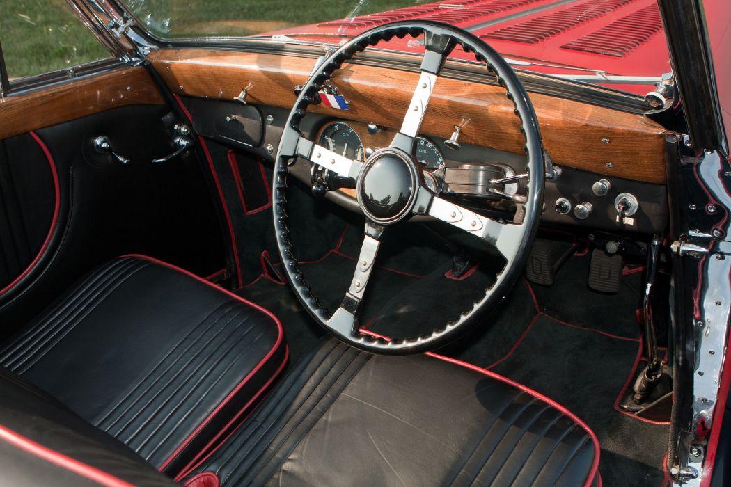 1947 Delahaye 135 M Cabriolet par Guillore retro vintage luxury wallpaper