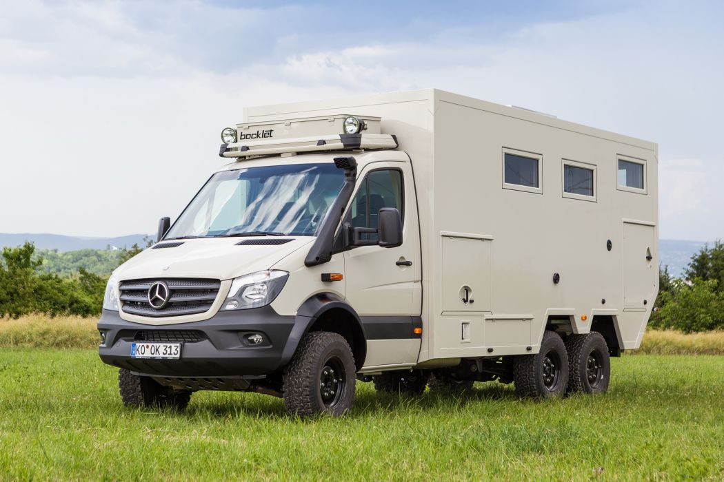 2015 Bocklet Dakar 750 6x6 mercedes benz emergency offroad motorhome camper wallpaper
