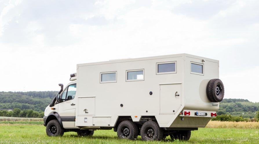 2015 Bocklet Dakar 750 6x6 mercedes benz emergency offroad motorhome camper wallpaper