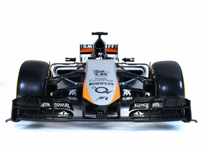 2015 Force India VJM08 F-1 formula race racing wallpaper