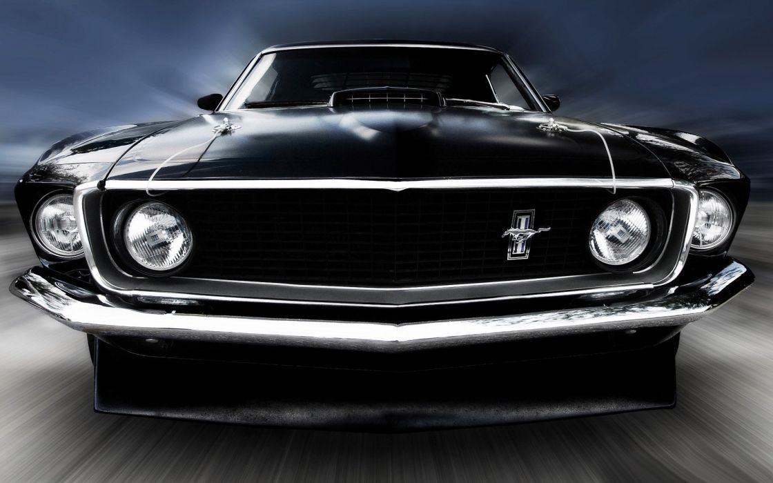 1969 Ford Mustang Wallpaper 1920X1200 wallpaper