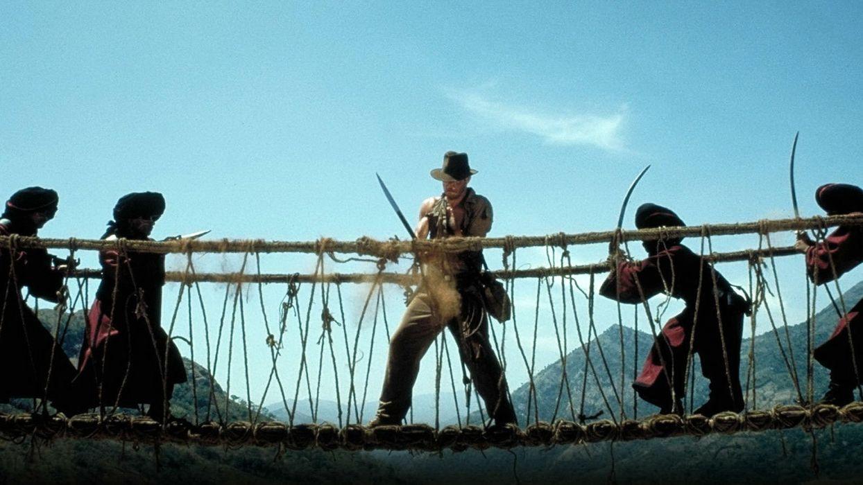 INDIANA JONES action adventure fantasy hero heroes thriller disney wallpaper