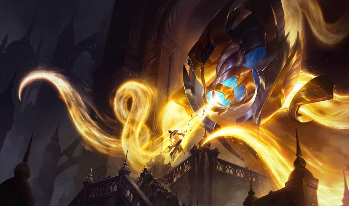 League of Legends Vel'Koz Archlight wallpaper wallpaper