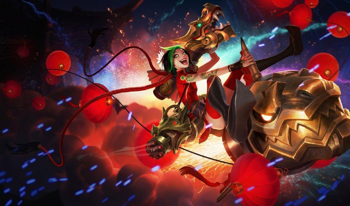League of Legends Jinx Firecracker wallpaper wallpaper