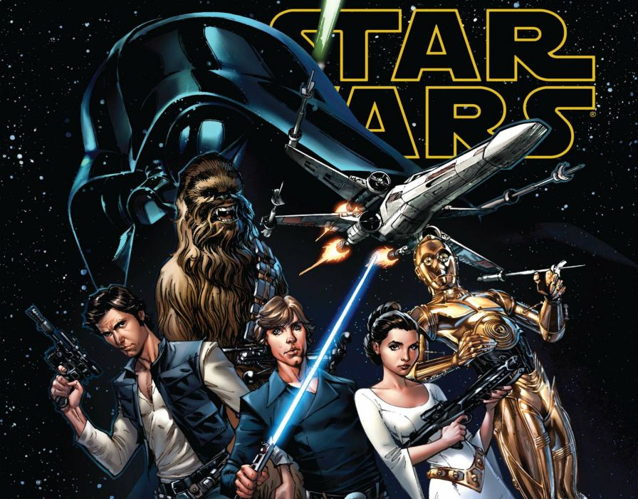 MARVEL STAR WARS sci-fi futuristic action comics adventure poster wallpaper