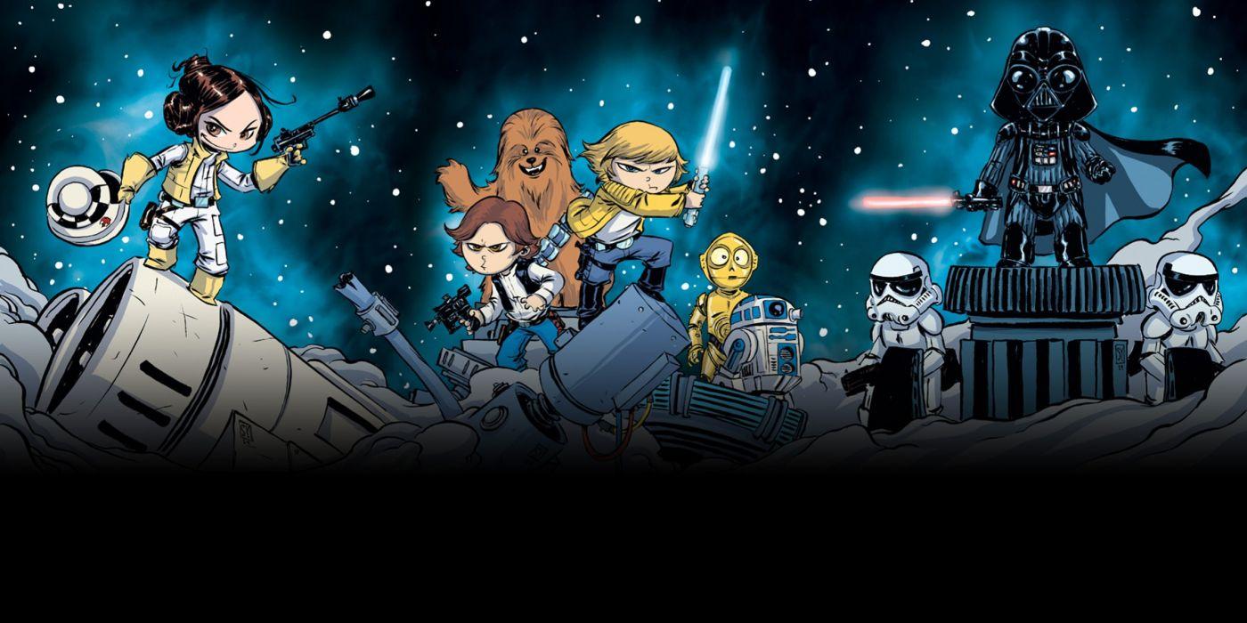 MARVEL STAR WARS sci-fi futuristic action comics adventure wallpaper