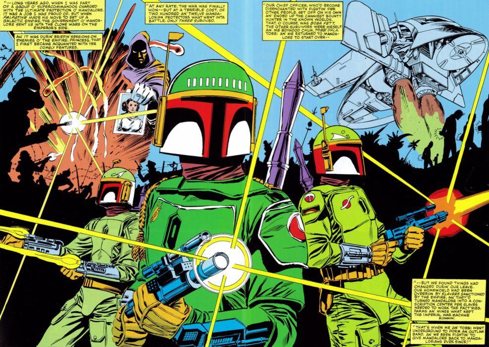 MARVEL STAR WARS sci-fi futuristic action comics adventure poster wallpaper
