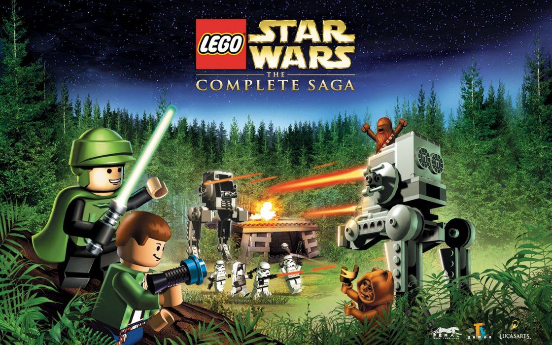 Lego Star Wars Complete Saga Wallpaper