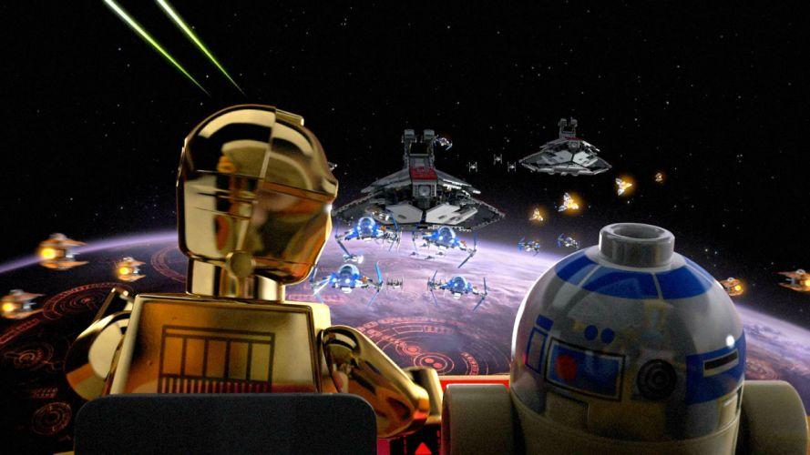 LEGO STAR WARS action adventure toy futuristic family sci-fi legos toys spaceship robot wallpaper