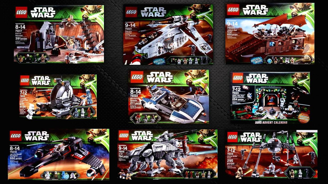 LEGO STAR WARS action adventure toy futuristic family sci-fi legos toys poster spaceship wallpaper