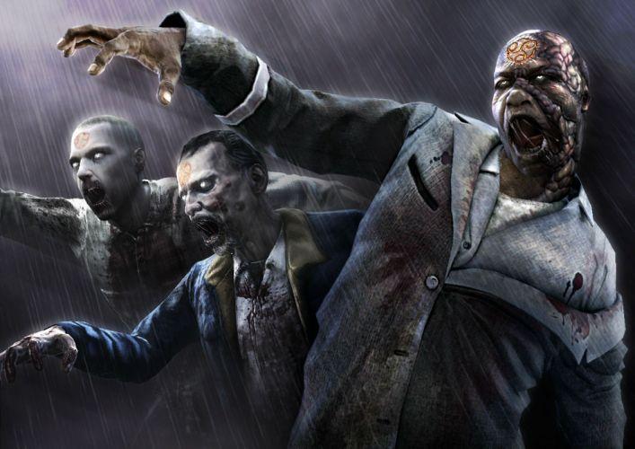 AMY survival horror stealth dark zombie evil demon blood wallpaper