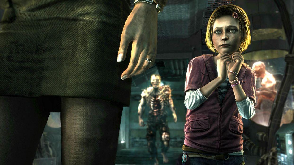 AMY survival horror stealth dark zombie evil demon wallpaper