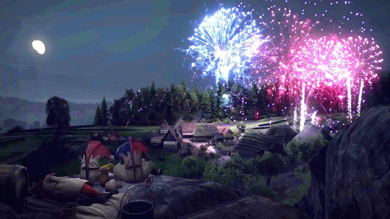 KINGDOM COME DELIVERANCE fantasy fighting adventure medieval rpg 1kingdom fireworks wallpaper