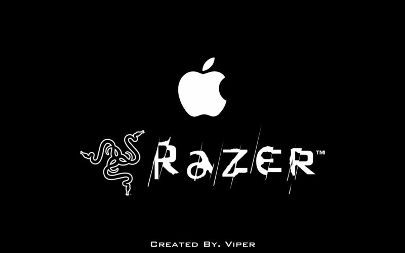 Apple & Razer - 1920x1200 wallpaper