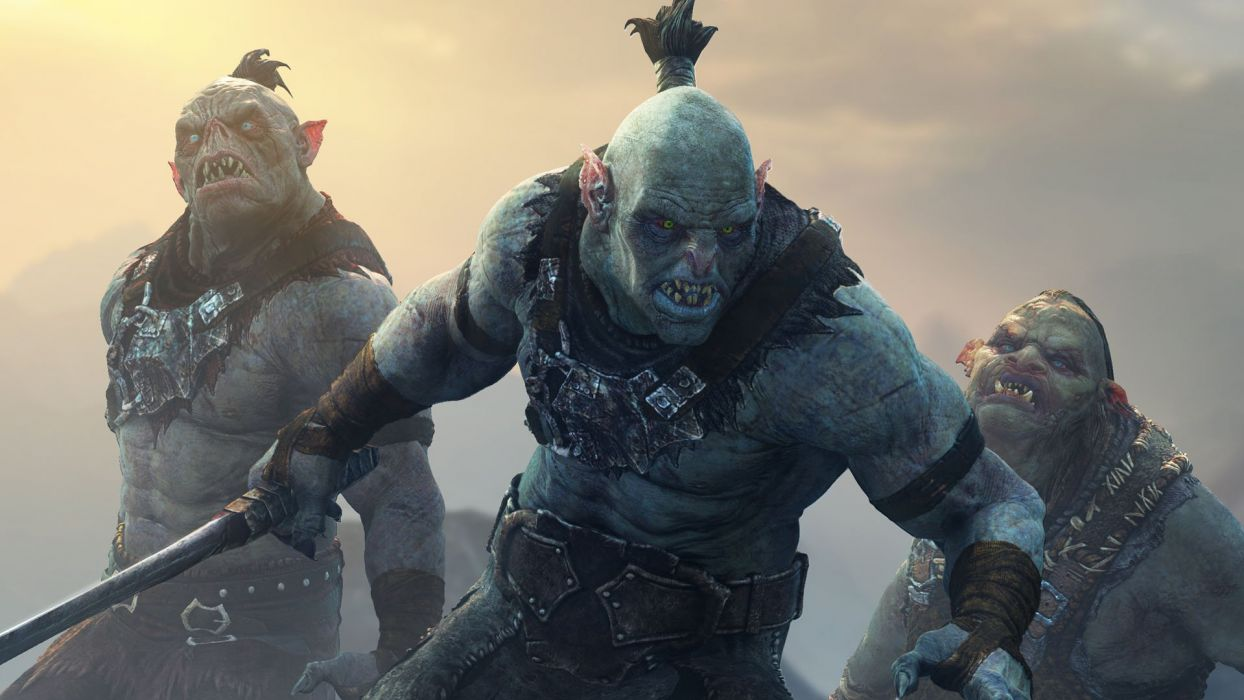 MIDDLE EARTH SHADOW MORDOR fantasy adventure action lotr online lord rings warrior wallpaper